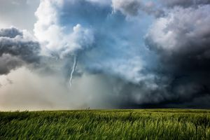 field tornado sky nature landscape clouds storm