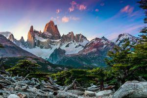 fitz roy nature el chalten argentina patagonia landscape
