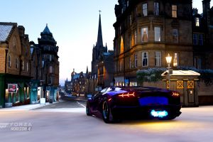 forza horizon 4 edinburgh video games lamborghini aventador lp750-4 sv lamborghini