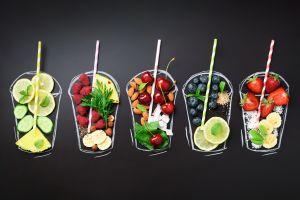fruit food simple background