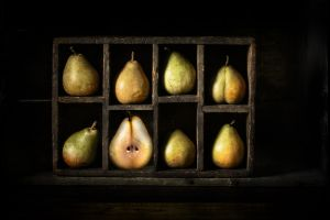 fruit food still life pears