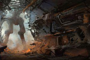 futuristic artwork science fiction