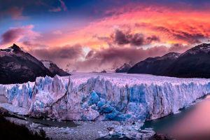glacier nature patagonia perito moreno landscape