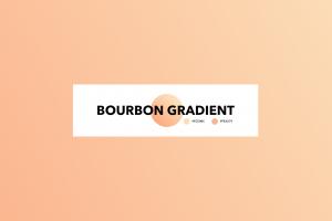 gradient typography minimalism