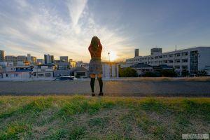 gravure japanese women outdoors graphis urban shion yumi asian city japanese women jav idol women pornstar