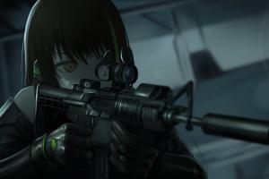 gun anime anime girls girls frontline
