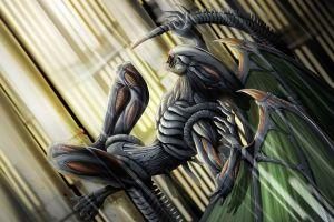 h. r. giger creature artwork xenomorph aliens