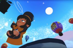 hot air balloons colorful a hat in time screen shot