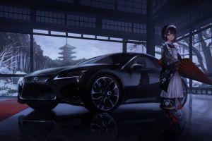 illustration kimono digital