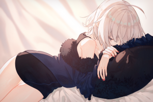 jeanne (alter) (fate/grand order) anime fate/grand order painted nails anime girls