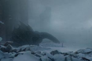 jon snow dragon game of thrones snow