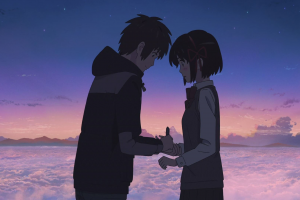 kimi no na wa anime love landscape