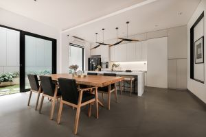 kitchen chair table interior design modern interior