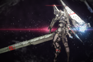 knights of sidonia tsugumori (sidonia no kishi) mech fantasy weapon