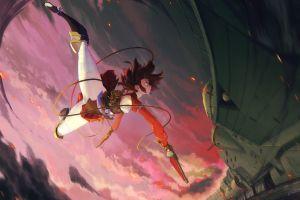 koutetsujou no kabaneri fantasy weapon mumei anime girls