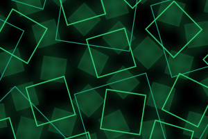 lines vector green square