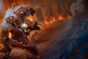 magic dungeons & dragons fighting fantasy art artwork sword