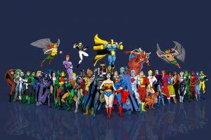 martian manhunter hawkgirl wonder woman hero superhero justice league shazam superman flash batman