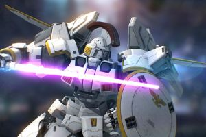 mech gundam tallgeese bokeh mobile suit gundam wing robot gundam mobile suit gundam artwork anime digital art
