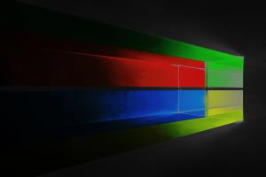microsoft windows 10 logo colorful