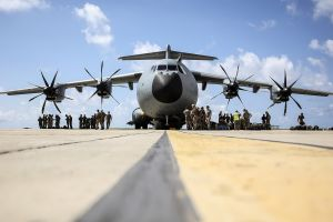military aircraft vehicle soldier military a400m aircraft