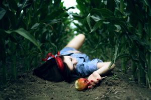 model asian snow white apples photography women