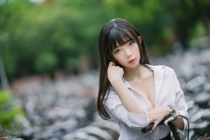 model depth of field asian ning shioulin black hair long hair women