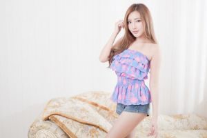 model long hair brunette photography women asian
