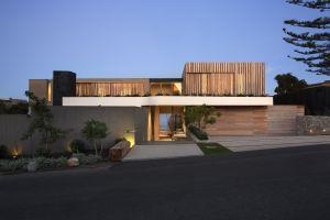 modern house building