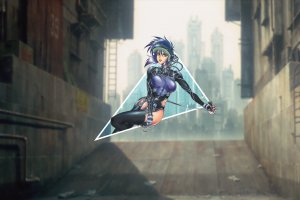 motoko kusanagi piture in picture ghost in the shell picture-in-picture