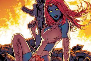 mystique comic art marvel comics comic girls comic books comics