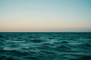 nature horizon sea water sky