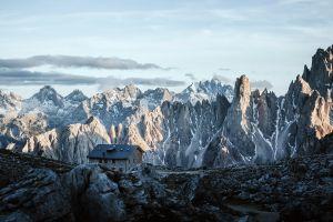 nature landscape mountains