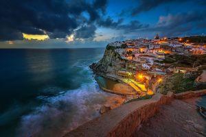 nature sea portugal architecture