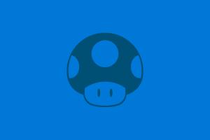 nintendo mushroom mario (character digital art super nintendo minimalism super mario