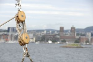 norway oslo ropes top view