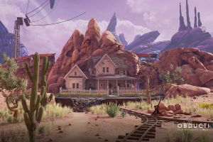 obduction hunrath cactus environment rocks alien world