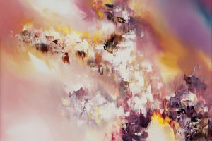 painting artwork abstract colorful