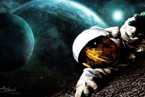photo manipulation astronomy space art planet spacescapes photomontage skyscape nasa galaxy photoshop astronaut