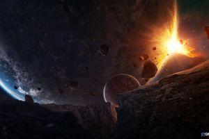 planet taenaron futuristic space