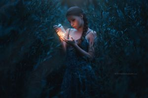 plants lantern lights dark long hair dress women viktoria stephanie model stefan häusler women outdoors glass