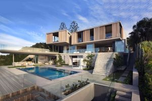 playground house architecture swimming pool modern