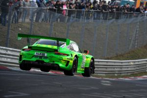 porsche manthey 911 rs race cars racing green