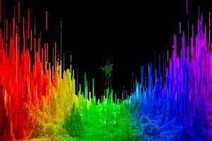 razer razer inc. colorful digital art render
