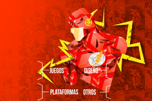 red organized flash