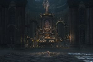screen shot video games bloodborne