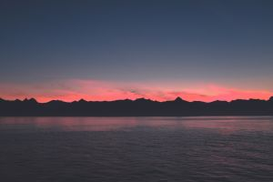 sea landscape sunset