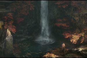 sekiro: shadows die twice video games digital art video game art samurai