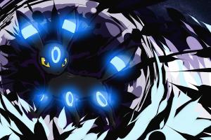 shiny dark umbreon shiny umbreon pokémon