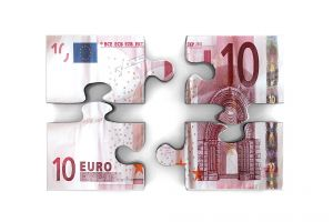 simple background digital art money numbers euros